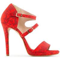 Schoenen Dames Sandalen / Open schoenen Made In Italia - iride Rood