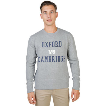 Textiel Heren Sweaters / Sweatshirts Oxford University - oxford-fleece-crewneck Grijs