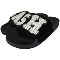 Schoenen Dames slippers Thewhitebrand Cash black Zwart