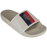 Schoenen slippers Cruyff agua copa cream Beige