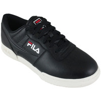 Schoenen Lage sneakers Fila original fitness black Zwart