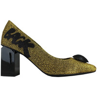 Schoenen Dames pumps Thewhitebrand Stiletto sand gold Goud