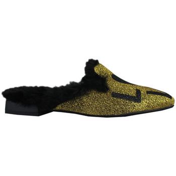 Schoenen Dames Sloffen Thewhitebrand Loafer sand gold Goud