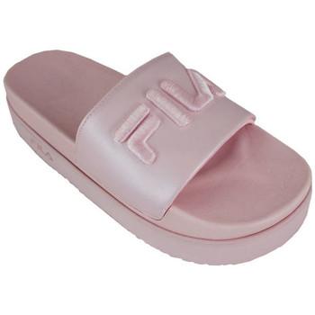 Schoenen Dames slippers Fila morro bay zeppa f wmn pink Roze