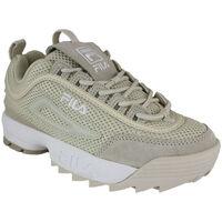 Schoenen Dames Lage sneakers Fila disruptor mm low wmn antique white Beige