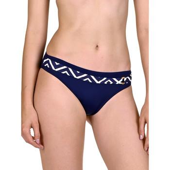 Textiel Dames Bikinibroekjes- en tops Lisca Zwempakkousen Costa Rica blauw Blauw