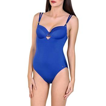 Textiel Dames Badpak Lisca Navarra Beach  1-delig voorgevormd zwempak Blauw