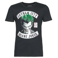 Textiel Heren T-shirts korte mouwen Casual Attitude INSANE JOKER Zwart