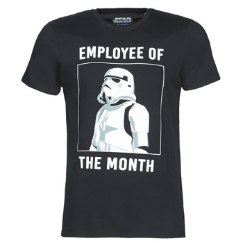 Textiel Heren T-shirts korte mouwen Casual Attitude STORMTROOPER OF THE MONTH Zwart