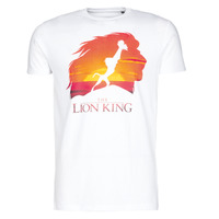 Textiel Heren T-shirts korte mouwen Casual Attitude CIRCLE OF LIFE Wit