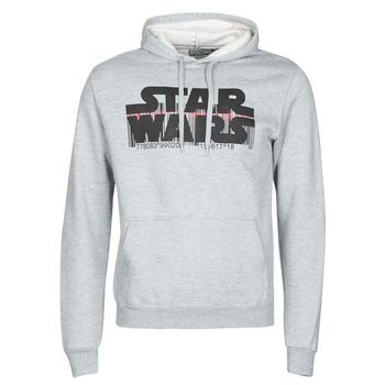 Textiel Heren Sweaters / Sweatshirts Casual Attitude Star Wars Bar Code Grijs