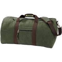 Tassen Reistassen Quadra QD613 Vintage Militair Groen