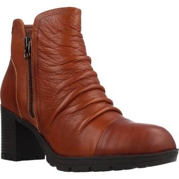 Schoenen Dames Enkellaarzen Carmela 66869C Bruin