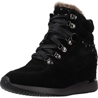 Schoenen Dames Hoge sneakers Carmela 66878C Zwart