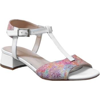 Schoenen Dames Sandalen / Open schoenen Brenda Zaro F3699 Meerkleurig wit