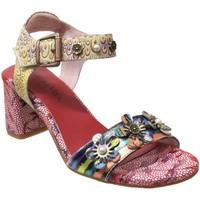 Schoenen Dames Sandalen / Open schoenen Laura Vita Heco 02 Veelkleurig leer