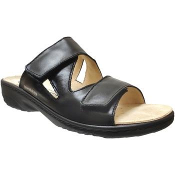Schoenen Dames Leren slippers Mobils By Mephisto Geva Zwart leer