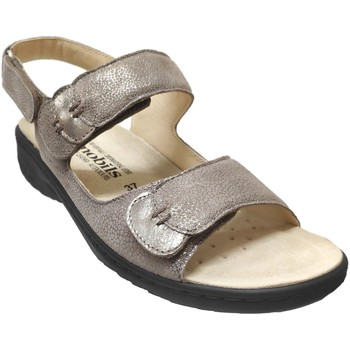 Schoenen Dames Sandalen / Open schoenen Mobils By Mephisto Getha Taupe metallic leer