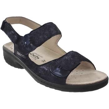 Schoenen Dames Sandalen / Open schoenen Mobils By Mephisto Getha Marineblauw leer