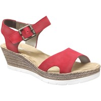 Schoenen Dames Sandalen / Open schoenen Rieker 619b3 Fluweelrood
