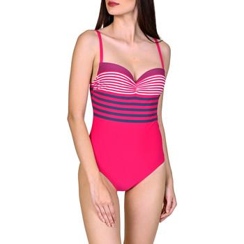 Textiel Dames Badpak Lisca Dominica  1-delig voorgevormd zwempak Lichtroze