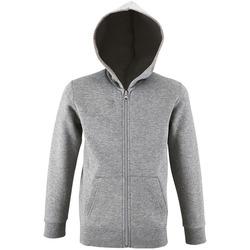 Textiel Kinderen Sweaters / Sweatshirts Sols STONE COLORS KIDS Gris