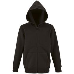 Textiel Kinderen Sweaters / Sweatshirts Sols STONE COLORS KIDS Negro