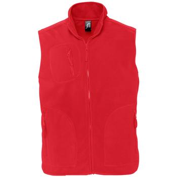 Textiel Fleece Sols NORWAY POLAR Rojo