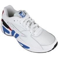 Schoenen Heren Lage sneakers Fila mindblower white/electric blue Wit