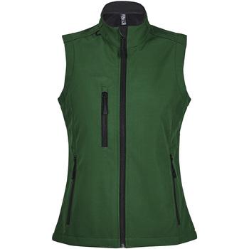Textiel Dames Windjack Sols RALLYE SPORT WOMEN Verde