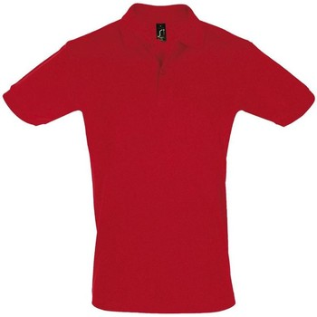 Textiel Heren Polo's korte mouwen Sols PERFECT COLORS MEN Rojo