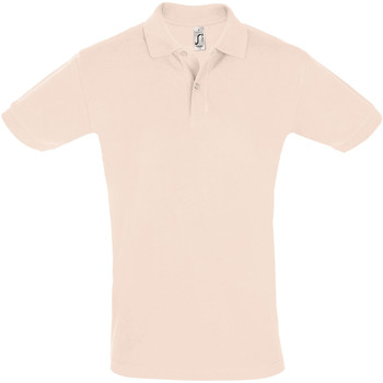 Textiel Heren Polo's korte mouwen Sols PERFECT COLORS MEN Rosa