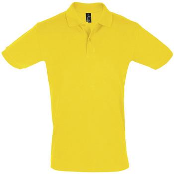 Textiel Heren Polo's korte mouwen Sols PERFECT COLORS MEN Amarillo