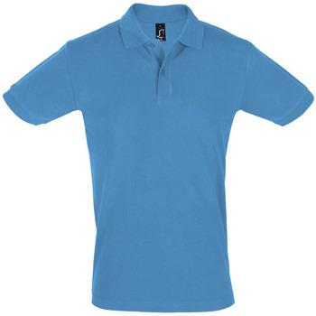 Textiel Heren Polo's korte mouwen Sols PERFECT COLORS MEN Azul
