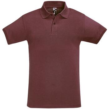 Textiel Heren Polo's korte mouwen Sols PERFECT COLORS MEN Violeta
