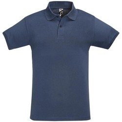 Textiel Heren Polo's korte mouwen Sols PERFECT COLORS MEN Azul
