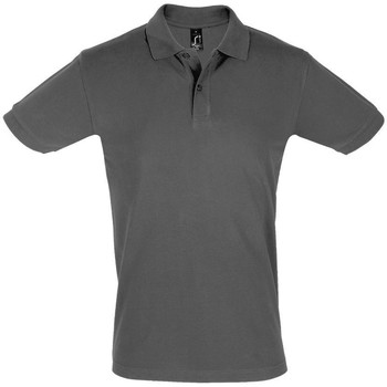 Textiel Heren Polo's korte mouwen Sols PERFECT COLORS MEN Gris