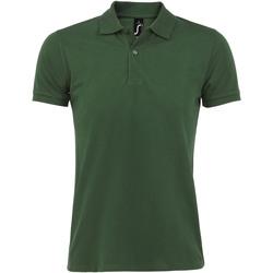 Textiel Heren Polo's korte mouwen Sols PERFECT COLORS MEN Verde