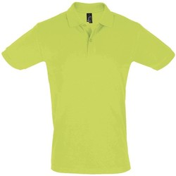 Textiel Heren Polo's korte mouwen Sols PERFECT COLORS MEN Verde