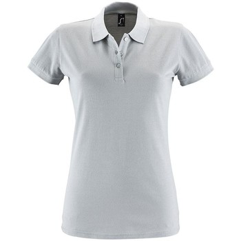 Textiel Dames Polo's korte mouwen Sols PERFECT COLORS WOMEN Gris