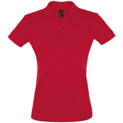 Textiel Dames Polo's korte mouwen Sols PERFECT COLORS WOMEN Rojo