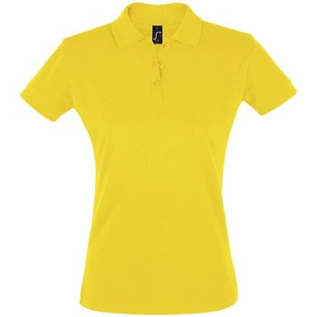 Textiel Dames Polo's korte mouwen Sols PERFECT COLORS WOMEN Amarillo