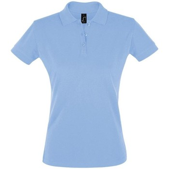 Textiel Dames Polo's korte mouwen Sols PERFECT COLORS WOMEN Azul