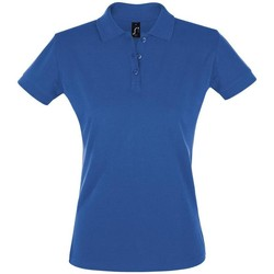 Textiel Dames Polo's korte mouwen Sols PERFECT COLORS WOMEN Azul