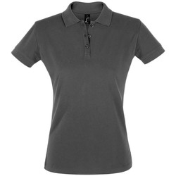 Textiel Dames Polo's korte mouwen Sols PERFECT COLORS WOMEN Gris