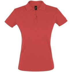 Textiel Dames Polo's korte mouwen Sols PERFECT COLORS WOMEN Rojo