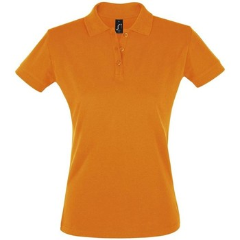 Textiel Dames Polo's korte mouwen Sols PERFECT COLORS WOMEN Naranja