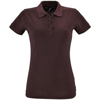 Textiel Dames Polo's korte mouwen Sols PERFECT COLORS WOMEN Violeta