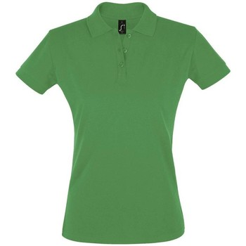 Textiel Dames Polo's korte mouwen Sols PERFECT COLORS WOMEN Verde