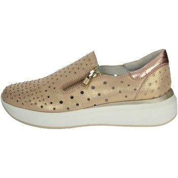 Schoenen Dames Mocassins Riposella C209 Copper